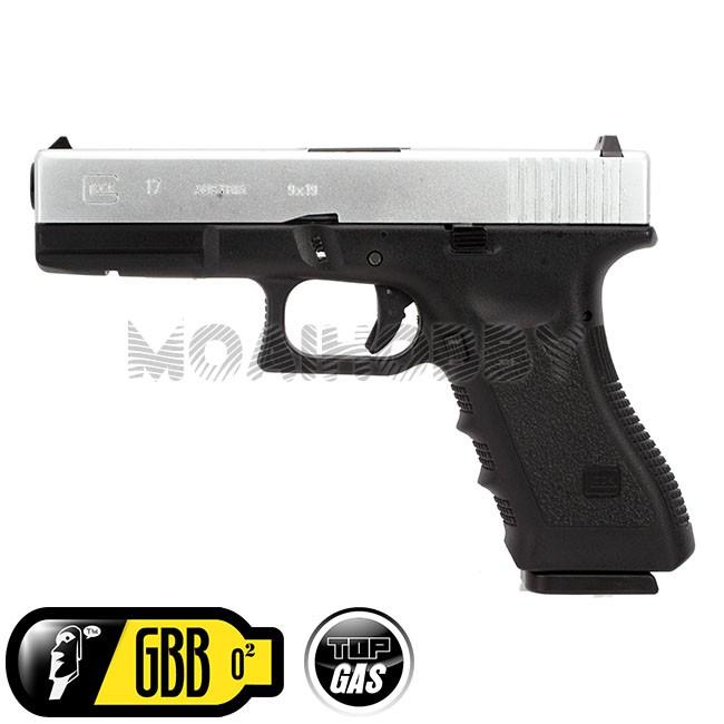 Airsoft Gear ARMY 25rd Mag Magazine For R17//Marui G17 GBB Pistol Black