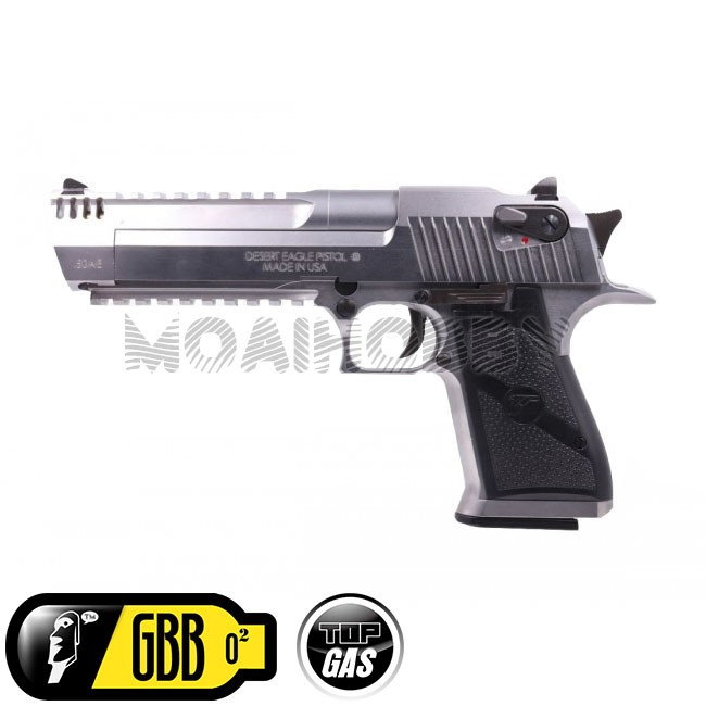 Cyber Gun License We Desert Eagle L6 50ae Full Metal Gbb Pistol Silver Online Airsoft Retail Wholesale Worldwide Shipping